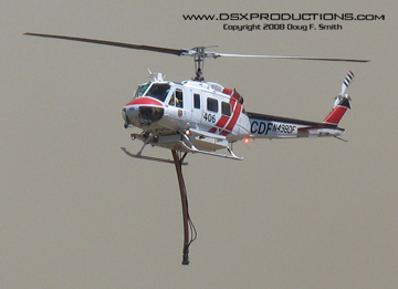Cal Fire Copter 406